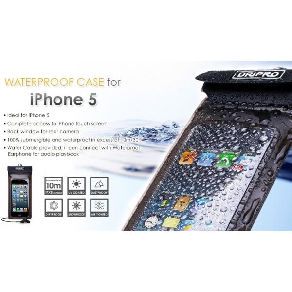 Housse IPhone avec écouteurs