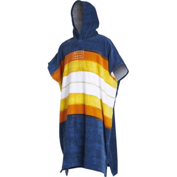 HOODED PONCHO SLATE