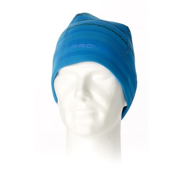 Bonnet stripe beanie blue