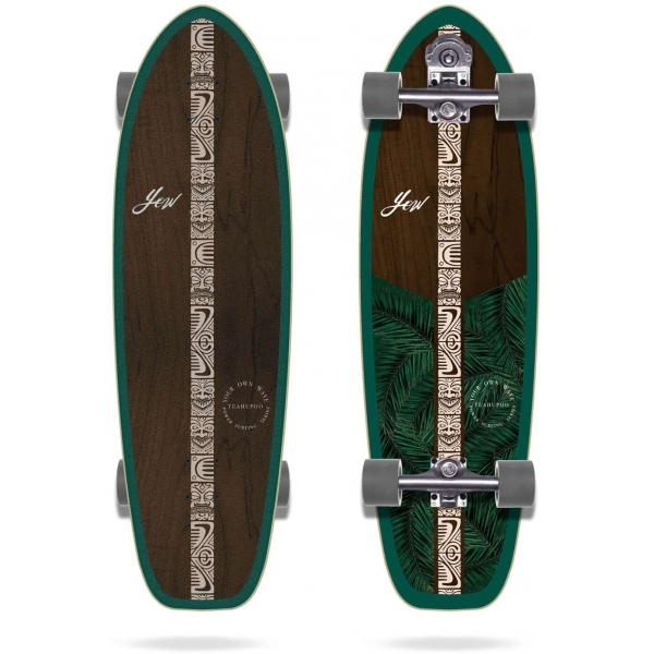 "Skateboard Yow Teahupoo 34"""