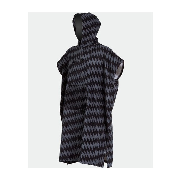 Poncho Billabong Homme Diamonds Gris