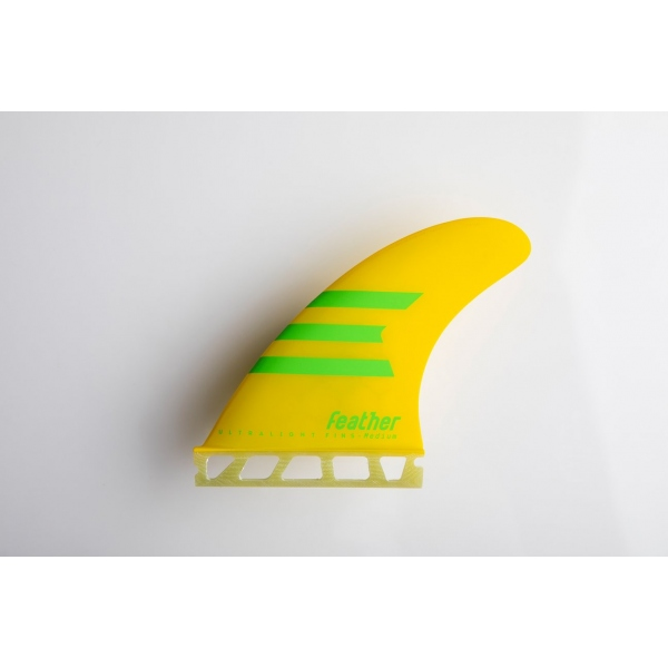 Feather Fins Ultralight HC Yellow