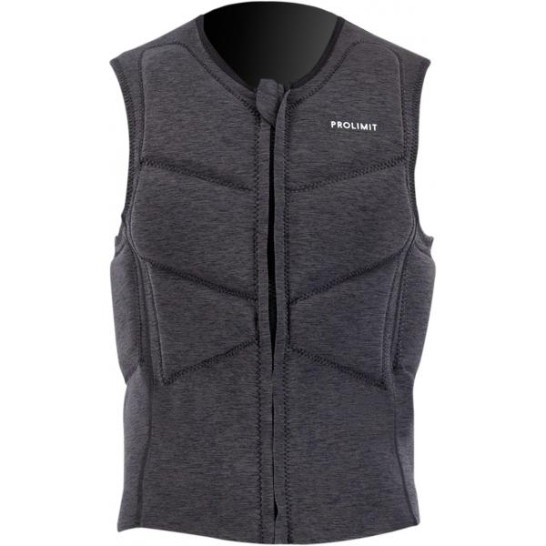Prolimit Mercury Impact vest Front zip Noir